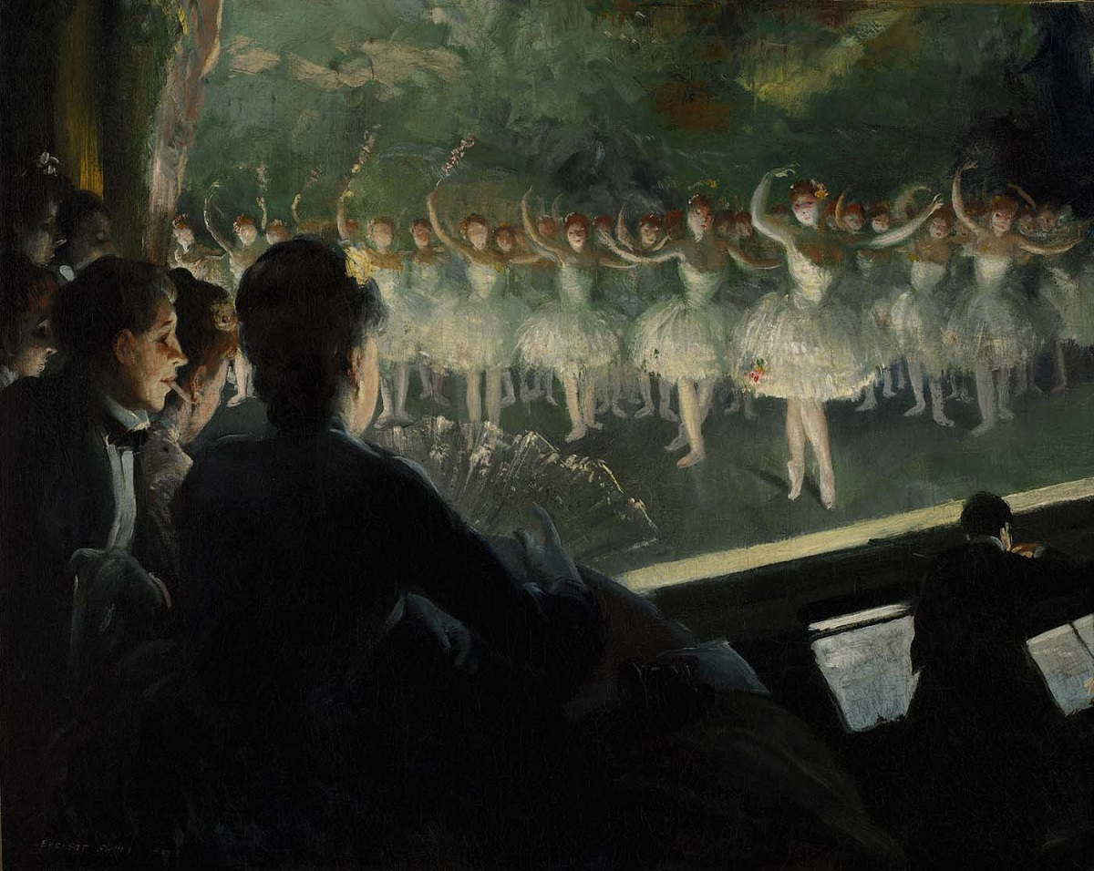 Everett Shinn The White Ballet, 1904 (2).jpg