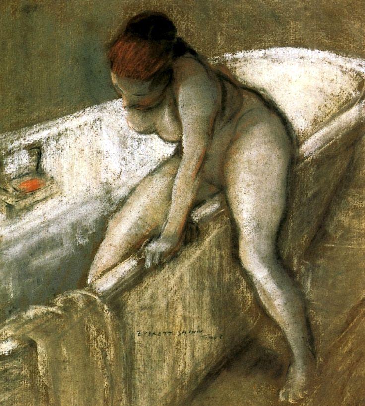 Живопись_Эверетт-Шинн_Girl-in-Bathtub-1903.jpg