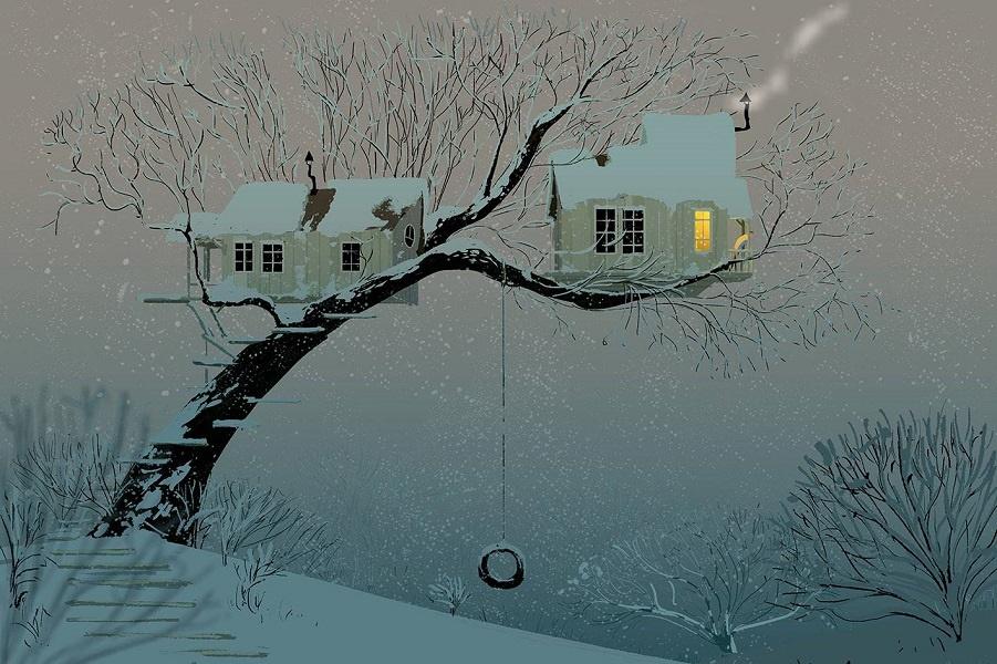 Новый год, Рождество и зимние забавы от Паскаля Кемпиона