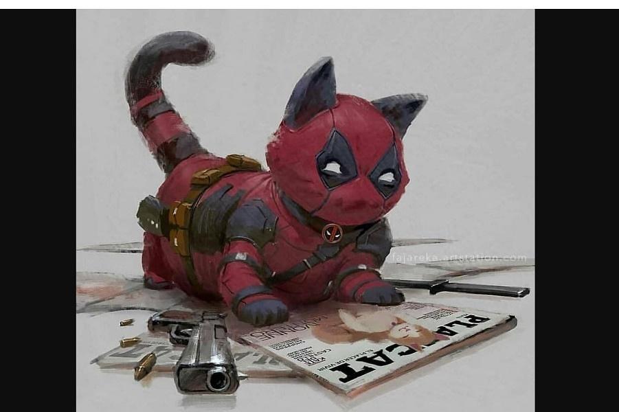 Если бы кошки были супергероями