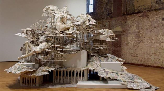 Diana-Al-Hadid-sculpture
