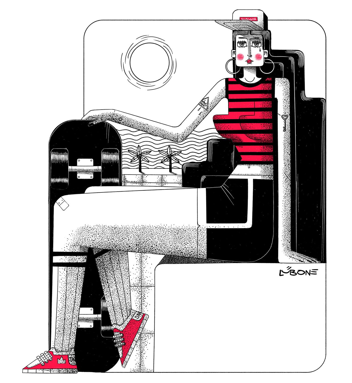 Lub One Иллюстрация, Цифровое искусство, Дизайн персонажей (2).jpg