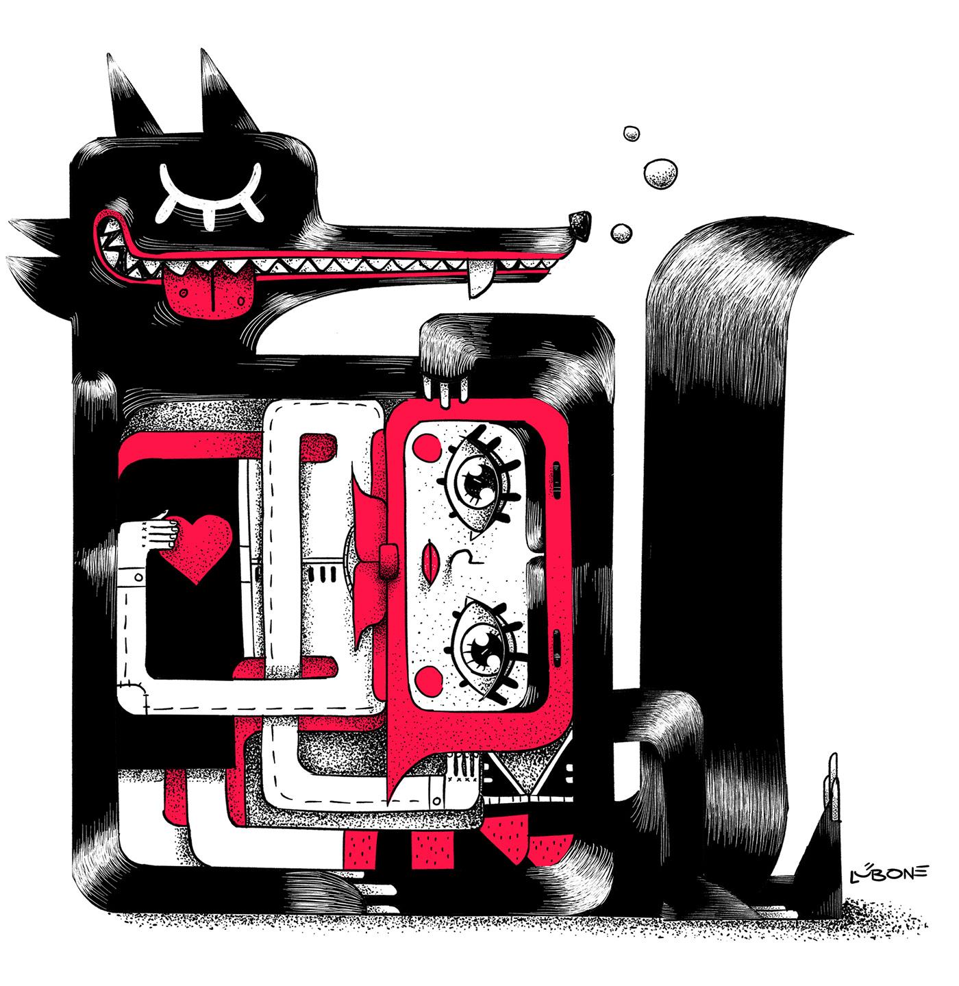 Lub One Иллюстрация, Цифровое искусство, Дизайн персонажей (6).jpg
