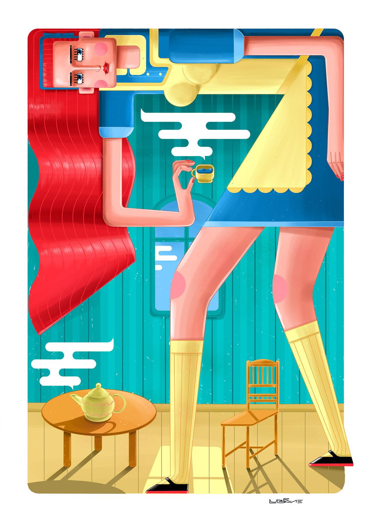 Lub One Иллюстрация, Цифровое искусство, Дизайн персонажей (10).jpg