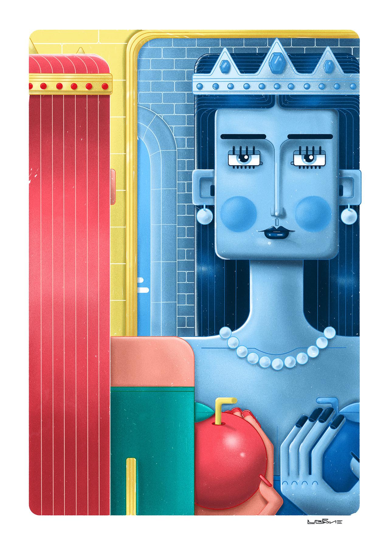 Lub One Иллюстрация, Цифровое искусство, Дизайн персонажей (11).jpg