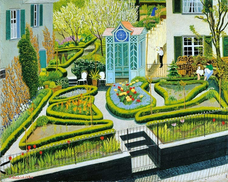 1926_ Spring garden, Öl auf Karton _ Oil painting on cardboard, 34 x 42 cm; Kunstmuseum Winterthur.jpg