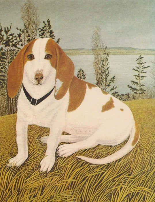 Adolf Dietrich, Hunting Dog, 1934.jpg
