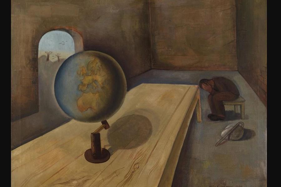 Живопись печали и надежды в 8 произведениях о Холокосте