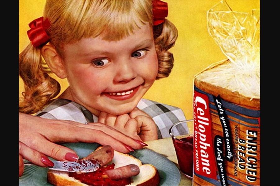 Демонические дети в рекламе середины ХХ века