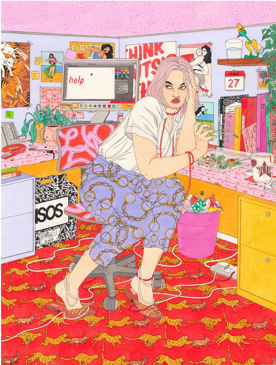 Laura-Callaghan-realizza-illustrazioni-dal-mood-anni-80-e-90-Collater.al_.jpg