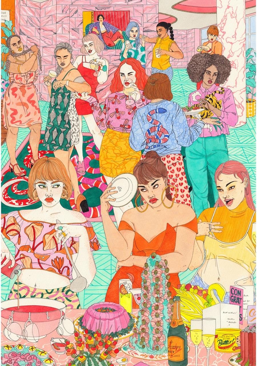 Laura-Callaghan-realizza-illustrazioni-dal-mood-anni-80-e-90-Collater.al-2.jpg