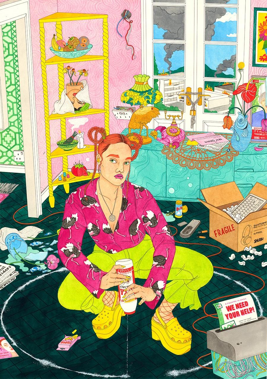 Laura-Callaghan-realizza-illustrazioni-dal-mood-anni-80-e-90-Collater.al-5.jpg