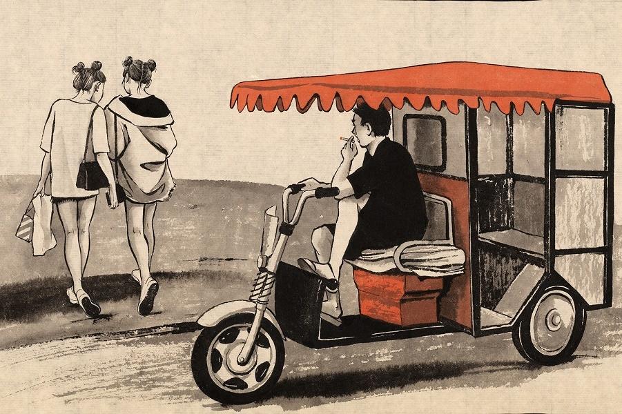 Шанхай. Другой мир. Иллюстрации Светланы Дорошевой