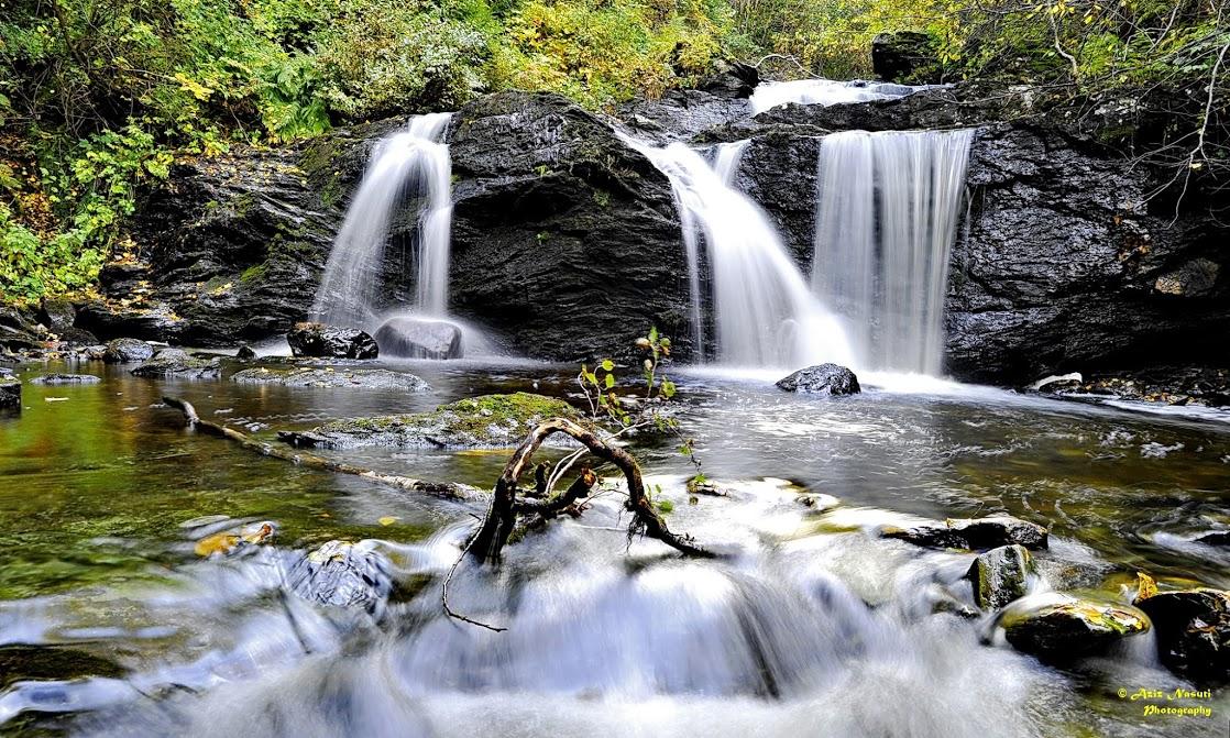 Teisendammen, waterfall, Bymarka, Trondheim