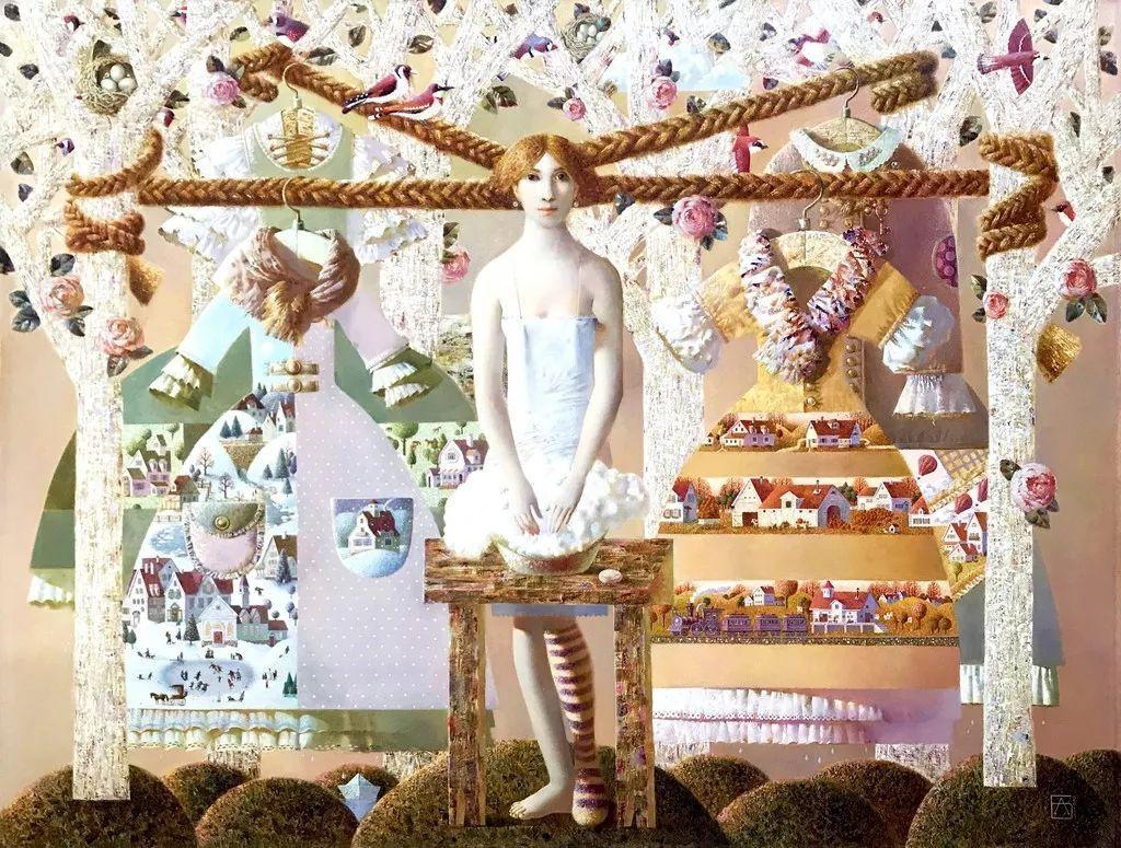 Анна Березовская который, Березовская, узнаваемого, всего, формирование, более, колледж, Закончила, Абрамцевский, художественный, стиля, учитель, студии, впоследствии, мужем, частной, занималась, фантазиями, которого, повлиял