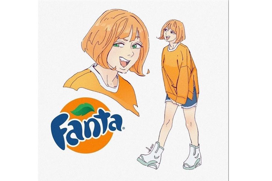 Если бы Фанта была девушкой