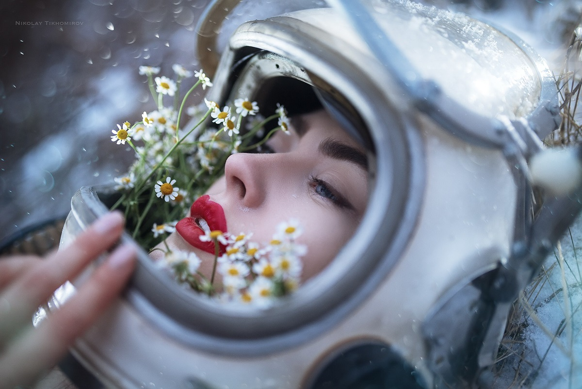 Портретная фотография Николая Тихомирова
