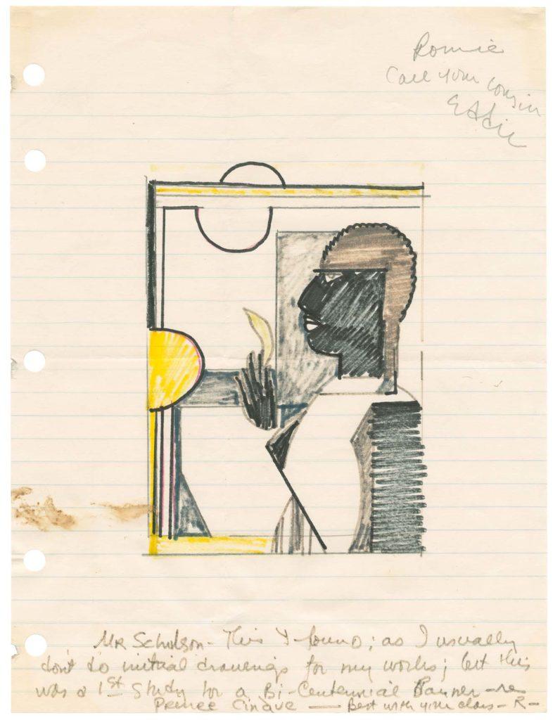 Ромар Бирден, письмо Дэвиду Шульсону, конец 1970-х годов.jpg