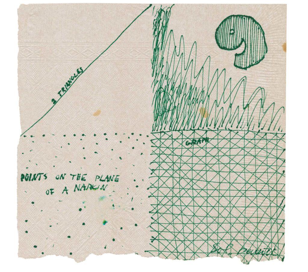 Сол ЛеВитт, эскиз на салфетке.jpg