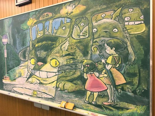 Рисунки на школьных досках японских школ (2).jpg