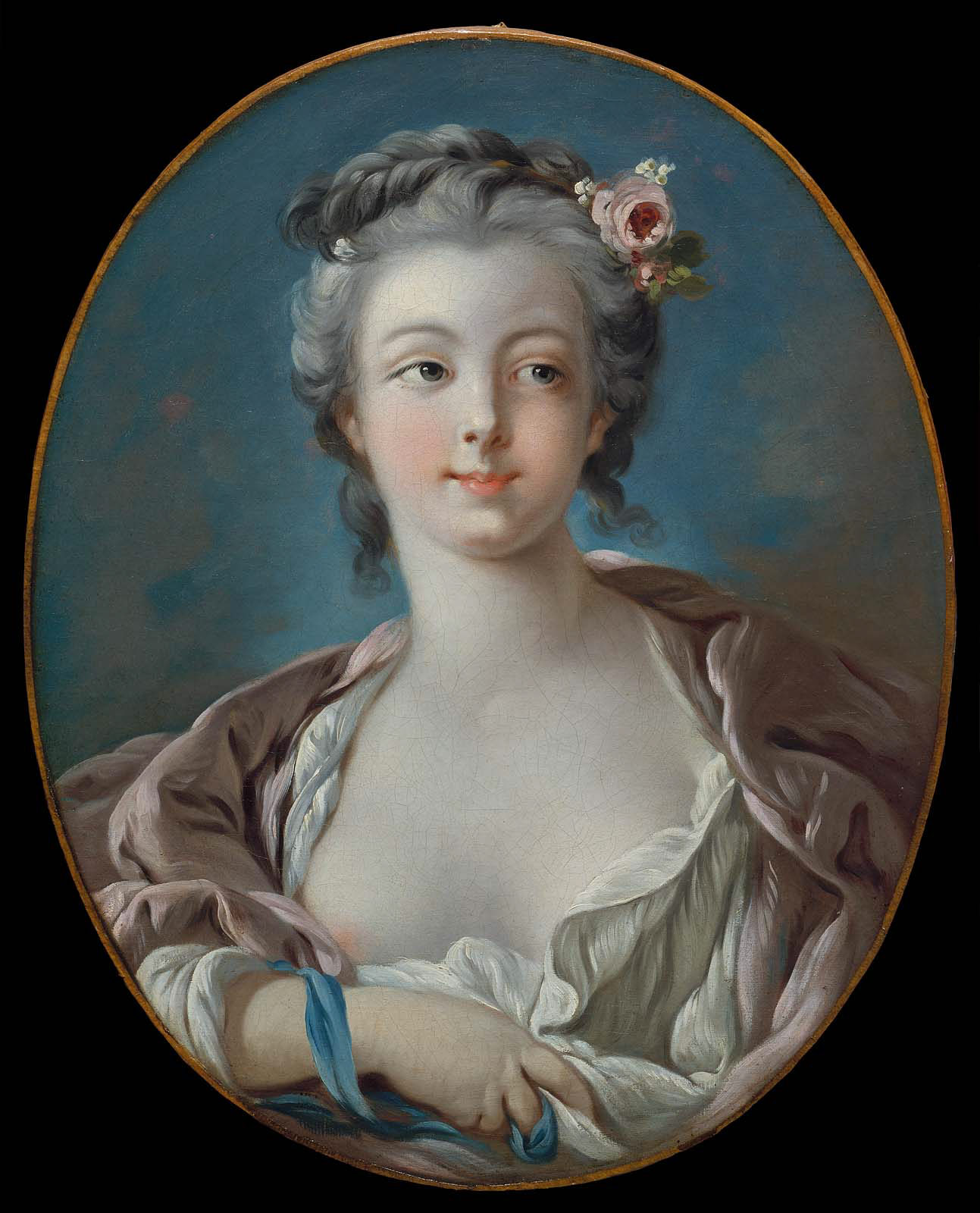 Почему на портретах молодых дам писали голую грудь, или открой соски Boucher018.jpg