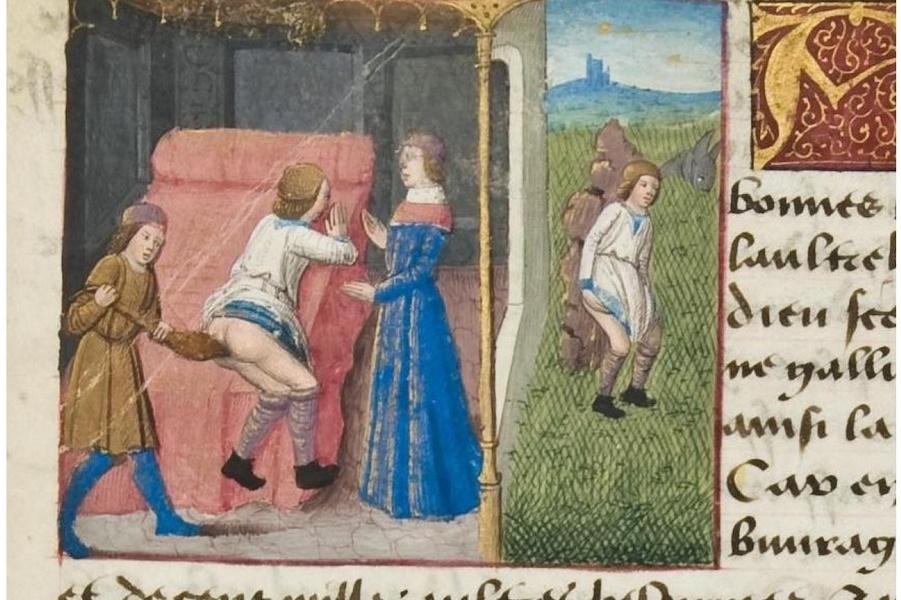 Фривольные сказки двора Филиппа Доброго, герцога Бургундского
