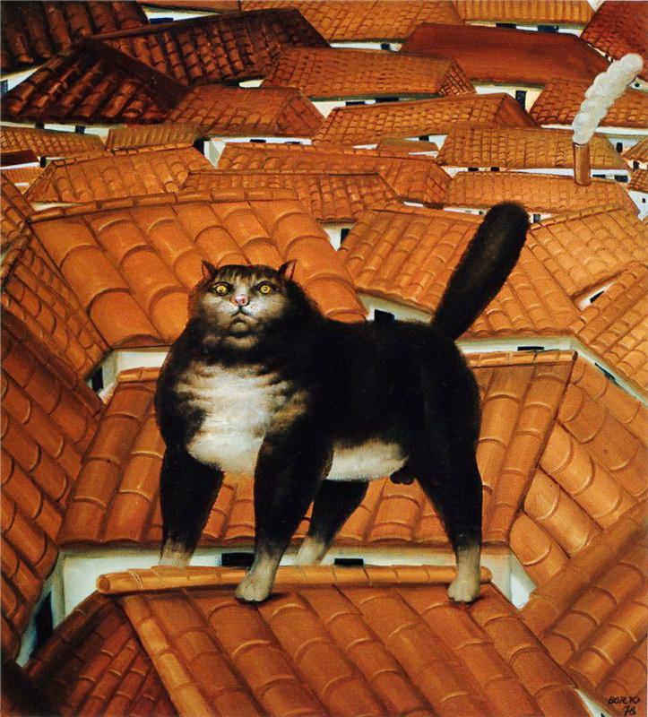 botero cat on the roof.jpg2.jpg