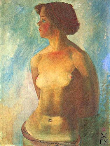 Девушка на солнце 1934.