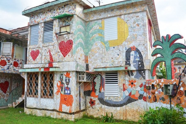 Фустерландия, район Гаваны, ставший шедевром мозаики Хосе Фустера