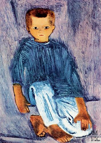 Крестьянский мальчик 1929 год.