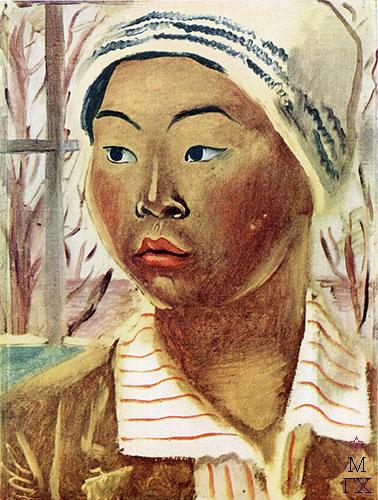 Студентка Института народов Севера 1933.