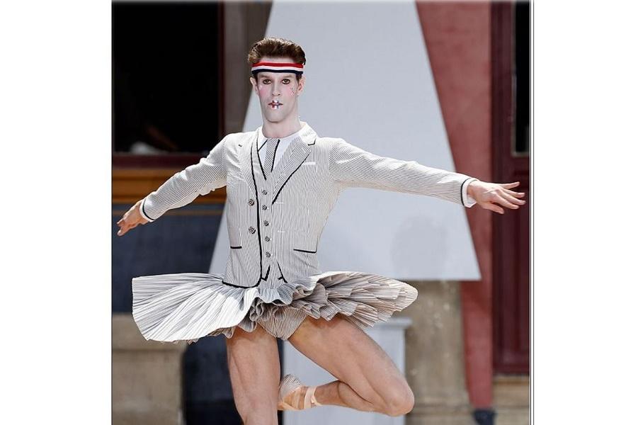 Неделя мужской моды: развлекали, как могли