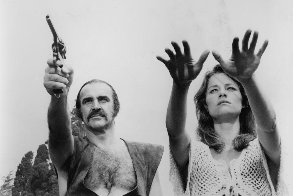 Шон Коннери в Зардосе (1977).jpg