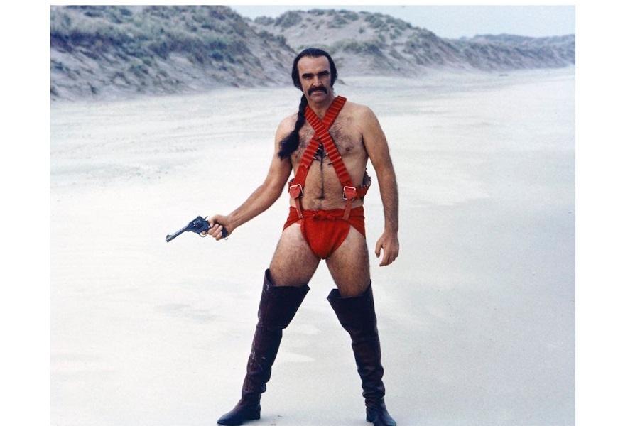Шон Коннери в Зардосе (1983).JPG