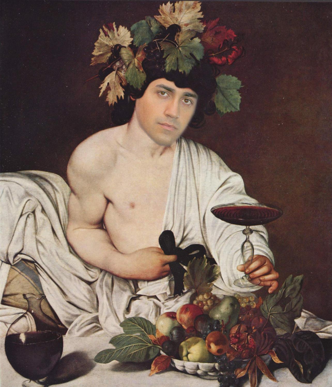 Ди Майо, итальянский вице-премьер, созданный в стиле Караваджо..jpg