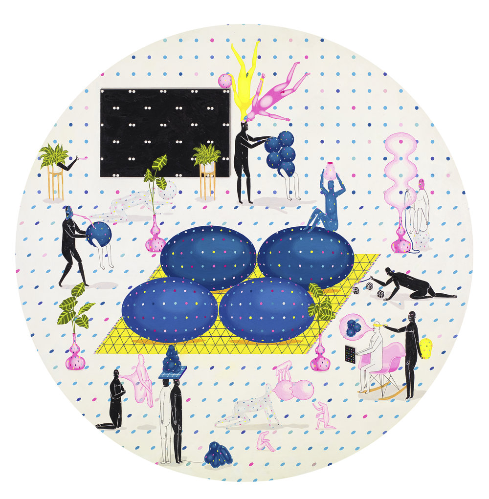 WHALEN.+Mark.+HIDDEN+INTERIORS.+2013.+acrylic,+gouache+and+ink+on+papper+to+panel+with+resin.+56+cm+diameter.jpeg