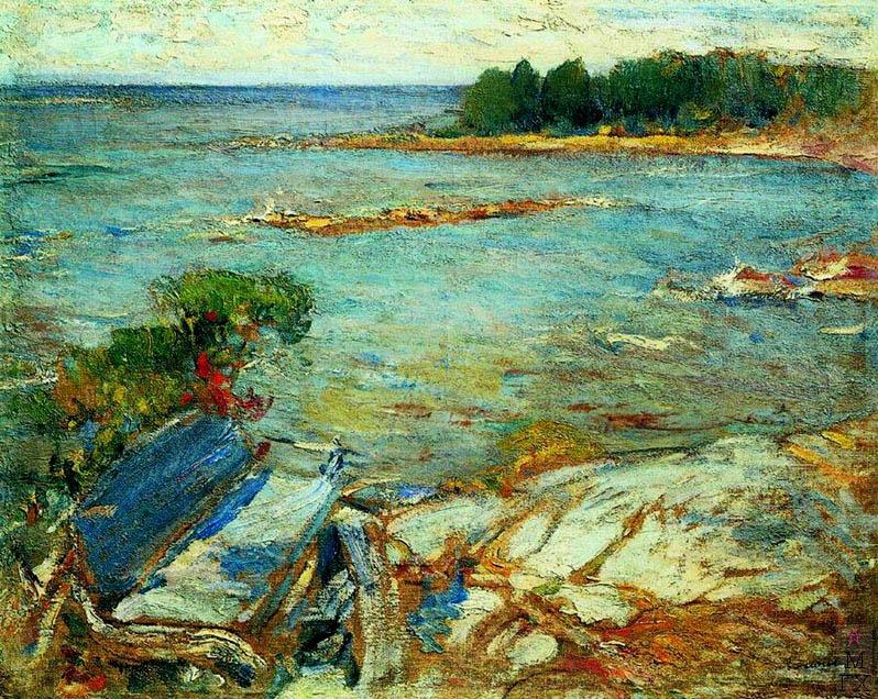 Северное море.  Тульский областной художественный музей.
