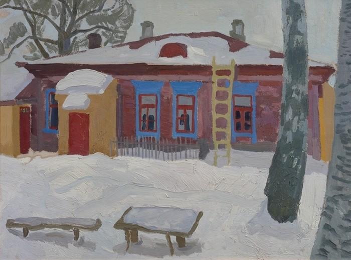 viktor-efimovich-popkov-a-house-in-pereslavl-1963.jpg