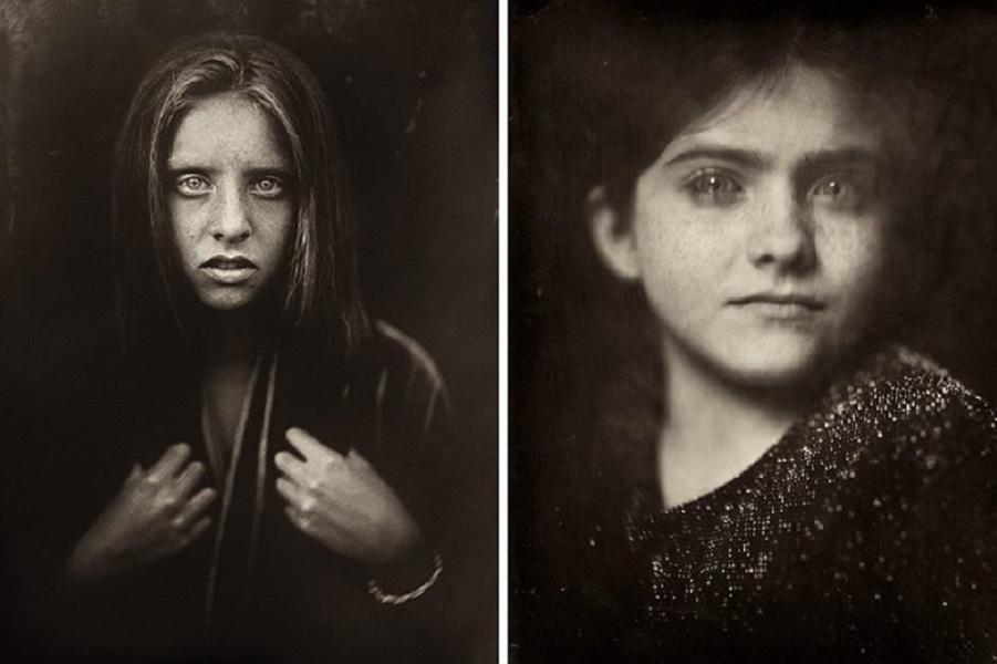 Снимая детей, фотограф использует 166-летнюю технику и результат потрясает