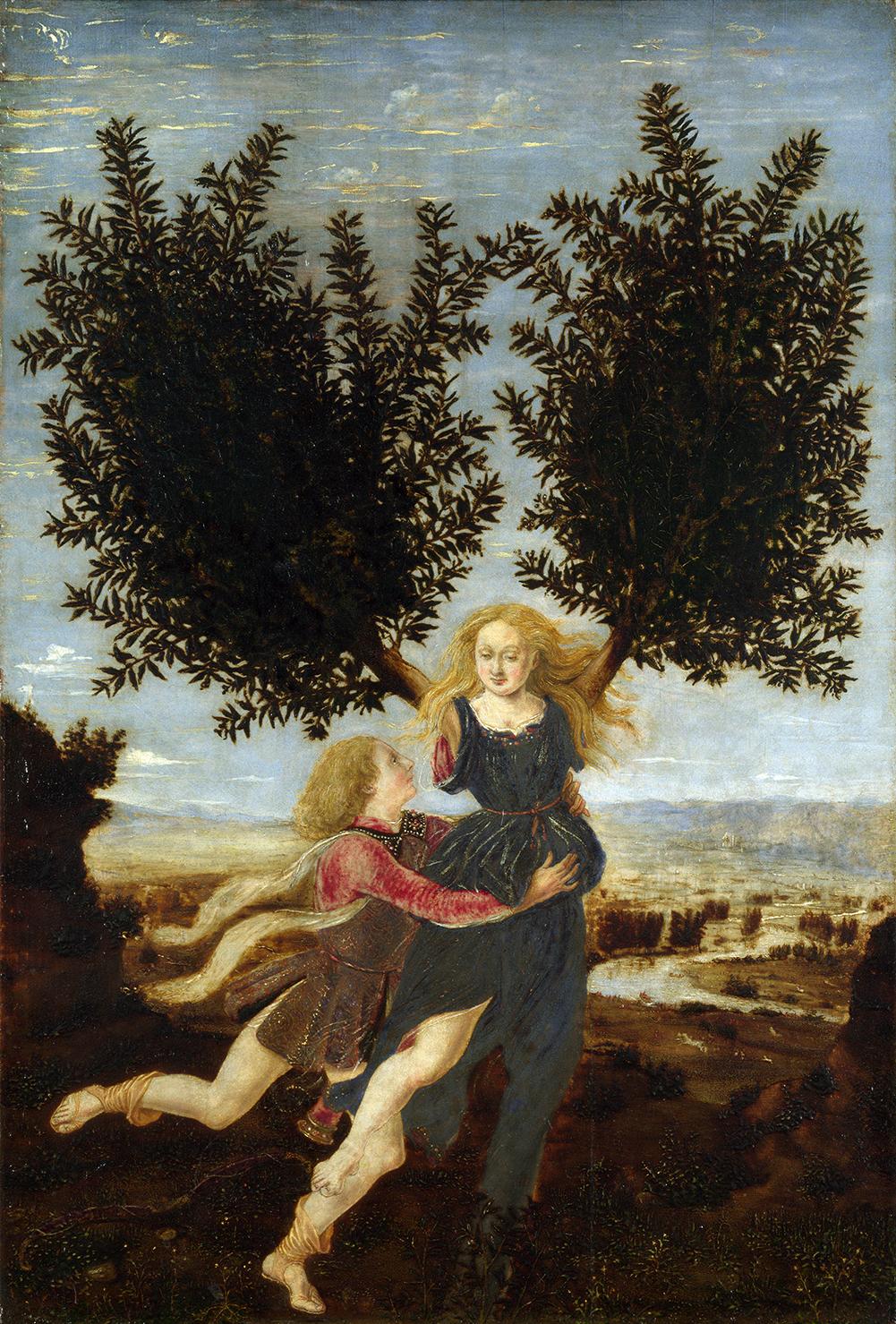 05 Antonio del Pollaiuolo – Apolo y Dafne s-XV.jpg