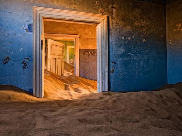 Kolmanskop, пустыню Намиб