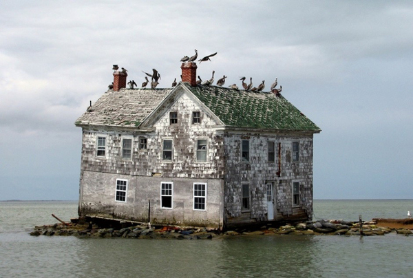 Голландии острове, Chesapeake Bay, США