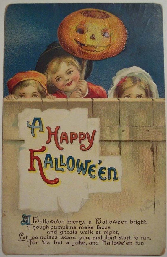 Lovely Vintage Halloween Postcards That Make You Feel Warm and Peaceful (7)_10112902519933866.jpg