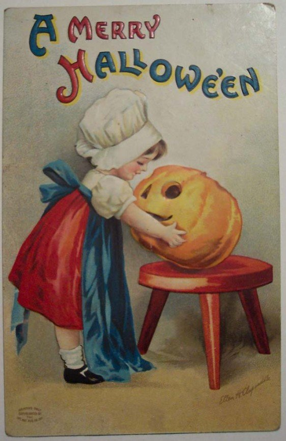 Lovely Vintage Halloween Postcards That Make You Feel Warm and Peaceful (8)_10112902855736677.jpg