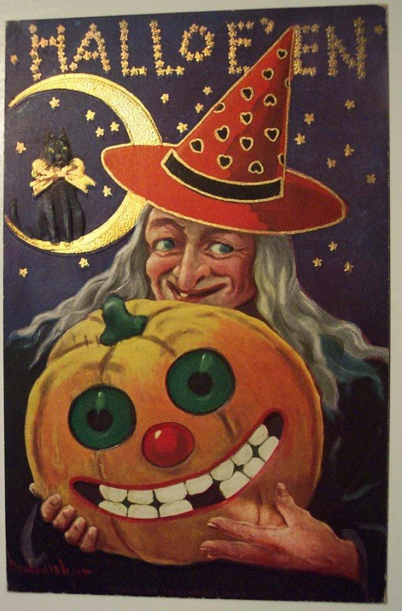 Lovely Vintage Halloween Postcards That Make You Feel Warm and Peaceful (12)_10112926937408423.jpg