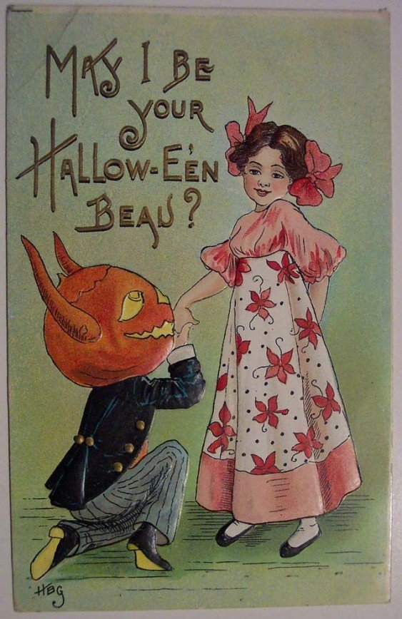 Lovely Vintage Halloween Postcards That Make You Feel Warm and Peaceful (17)_10112927478513660.jpg