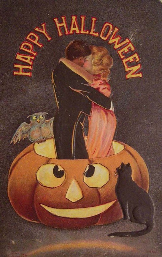 Lovely Vintage Halloween Postcards That Make You Feel Warm and Peaceful (20)_10112927936087298.jpg
