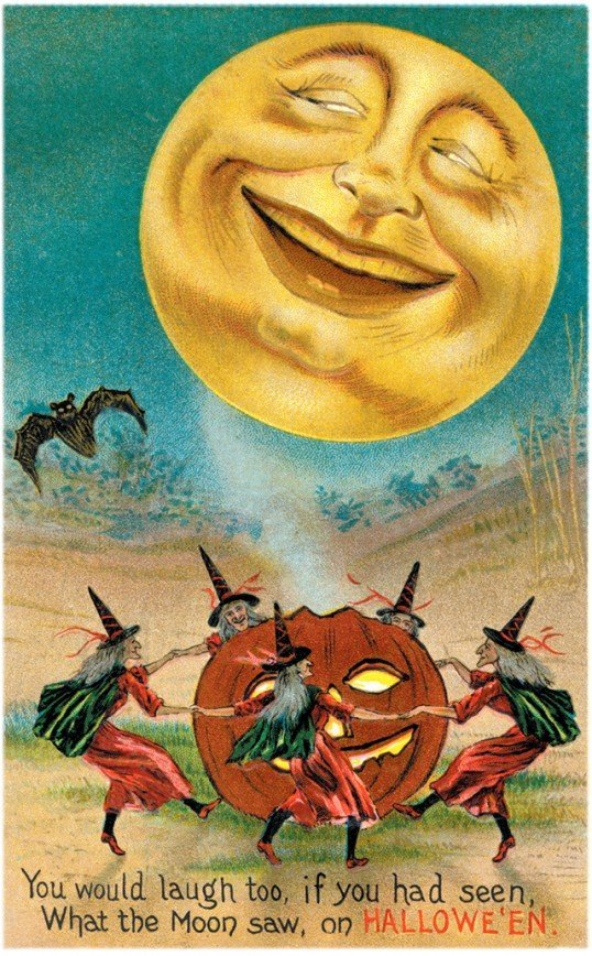 Lovely Vintage Halloween Postcards That Make You Feel Warm and Peaceful (27)_10112929224315316.jpg