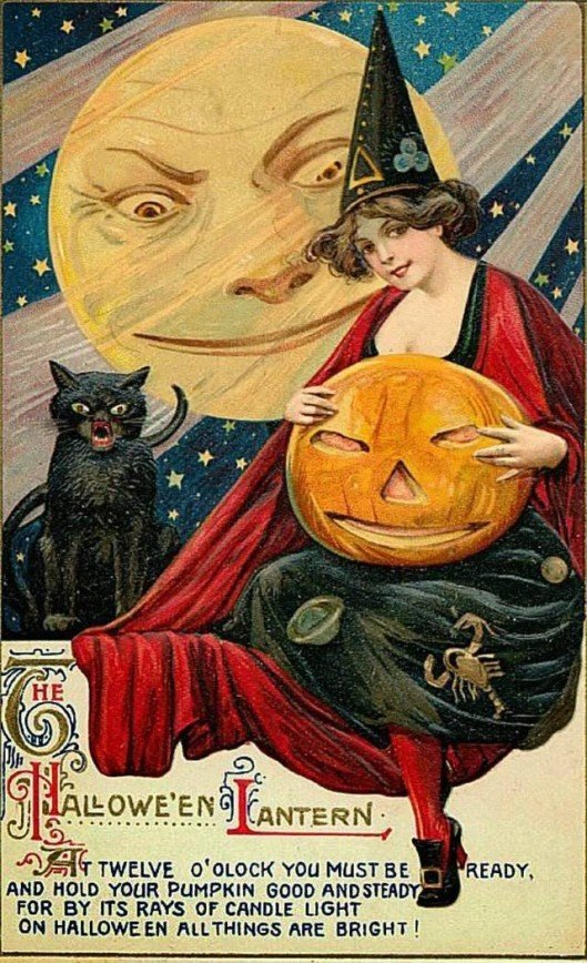 Postcards Greeting Halloween from the 1900s-10s (34)_10112961777283954.jpg