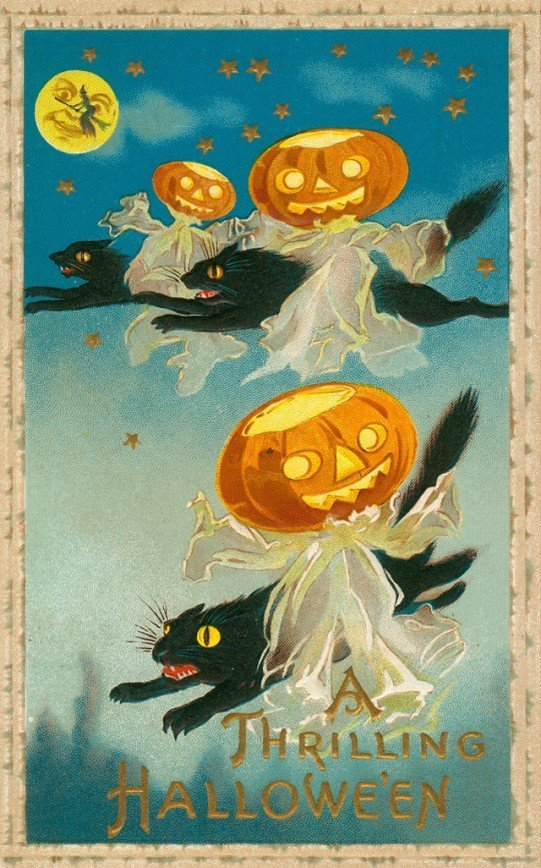 Postcards Greeting Halloween from the 1900s-10s (39)_10112962217094735.jpg
